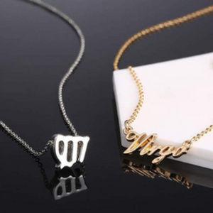 Jewelry - Virgo Zodiac Constellation Necklace